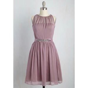[ModCloth] Dusty Rose Dress